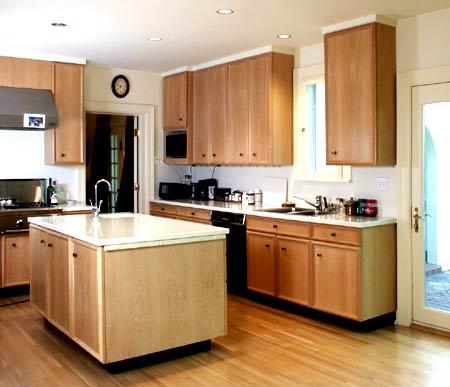 White Oak Veneer Cabinetry