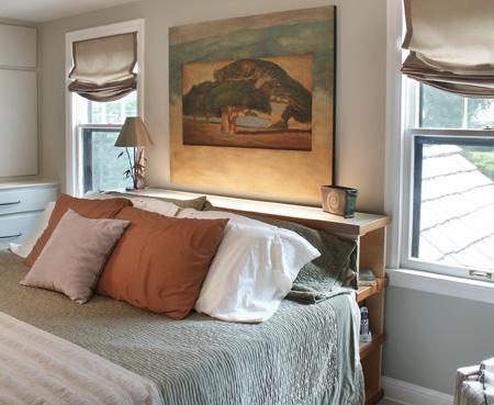 Bedroom Haven Lighted Bookshelves Kansas City Bedroom